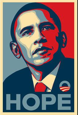 President Obama © Shepard Fairey
