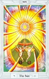The Sun Trump: From the Thoth Deck